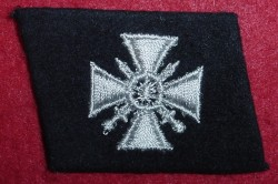 Nazi Waffen-SS Grenadier 29th Division Russian Volunteer Collar Tab...$150 SOLD