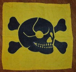 Original Nazi Minefield Warning Flag...$45 SOLD