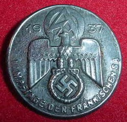 Nazi SA 1937 Tinnie Badge...$25 SOLD