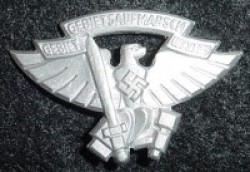 Nazi Hitler Youth Aufmarsch Badge...$35 SOLD