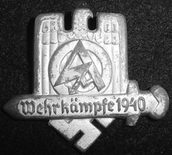 Nazi SA 1940 Tinnie Badge...$35 SOLD