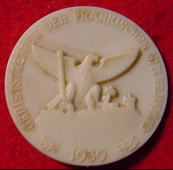 Nazi 1939 Hitler Youth Rally Plastic Tinnie...$30 SOLD