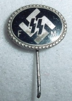 Original Nazi SS FM Financial Supporter Badge...$195 SOLD