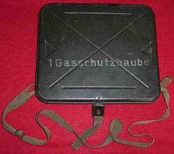 Nazi Gasmask Hood Carrying Case for Head-Wounded Soldiers...$65 SOLD