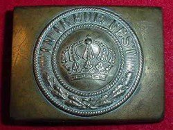 WWI Bavarian EM Belt Buckle...$65 SOLD