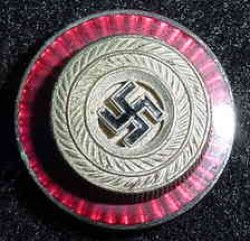 Nazi Political Leader's Visor Hat Cockade Button...$25 SOLD