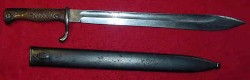"WWI German Army ""Butcher"" Bayonet by Ferdinand Schleutermann...$150 SOLD"