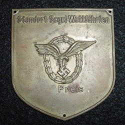 Nazi Luftwaffe Sports Competition Award Plaque...$45 SOLD