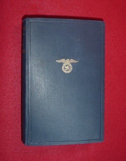 "Original ""Mein Kampf"" 1933 Edition with 1945 Handwritten Poem...$175 SOLD"