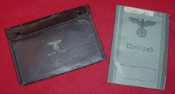 Nazi Soldier's Wehrpass with Documents and Holder...$150 SOLD