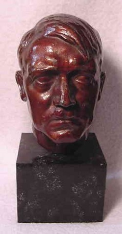 Adolf Hitler Bust by Theodor Linz...$350 SOLD