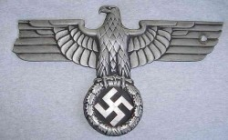 Nazi Railway Car Eagle...$625 SOLD
