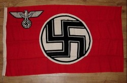 Nazi Kriegsmarine-Marked State Service Flag...$495 SOLD