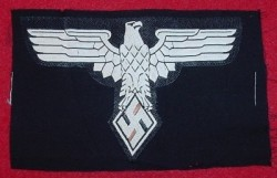 Nazi Studentbund Sports Shirt Eagle Patch with RZM Tag...$150 SOLD