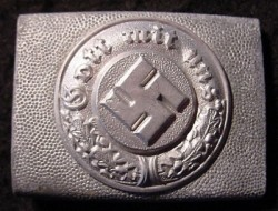 Nazi Police EM Belt Buckle...$95 SOLD