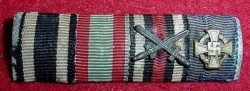 Nazi / Imperial Four-Ribbon Bar...$30 SOLD