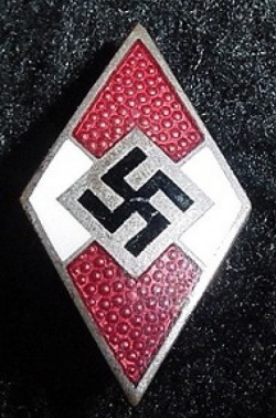 Nazi Hitler Youth Membership Badge...$45 SOLD