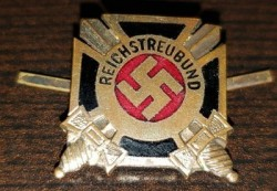 Nazi Reichstreubund Badge...$45 SOLD