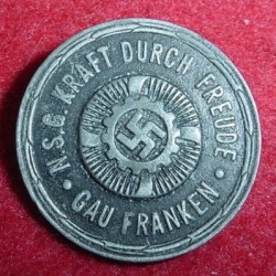 "Nazi ""Strength Thru Joy"" KdF Badge...$12 SOLD"