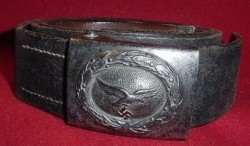 Nazi Luftwaffe EM Belt and Buckle Set...$150 SOLD