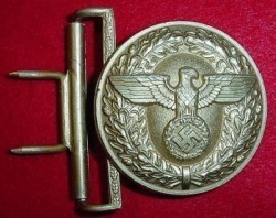 Nazi Political Leader's Belt Buckle...$115 SOLD