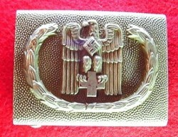 Nazi Red Cross EM Belt Buckle by JFS...$150 SOLD