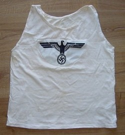 Nazi Army Sports Shirt Named to a Grenadier...$119 SOLD