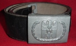 "Nazi Red Cross EM Belt with Buckle Marked ""OLC""...$235 SOLD"