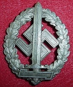 Nazi SA Sports Badge for the War Wounded...$195 SOLD